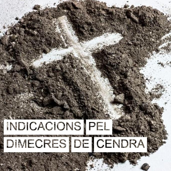 Dimecres de Cendra